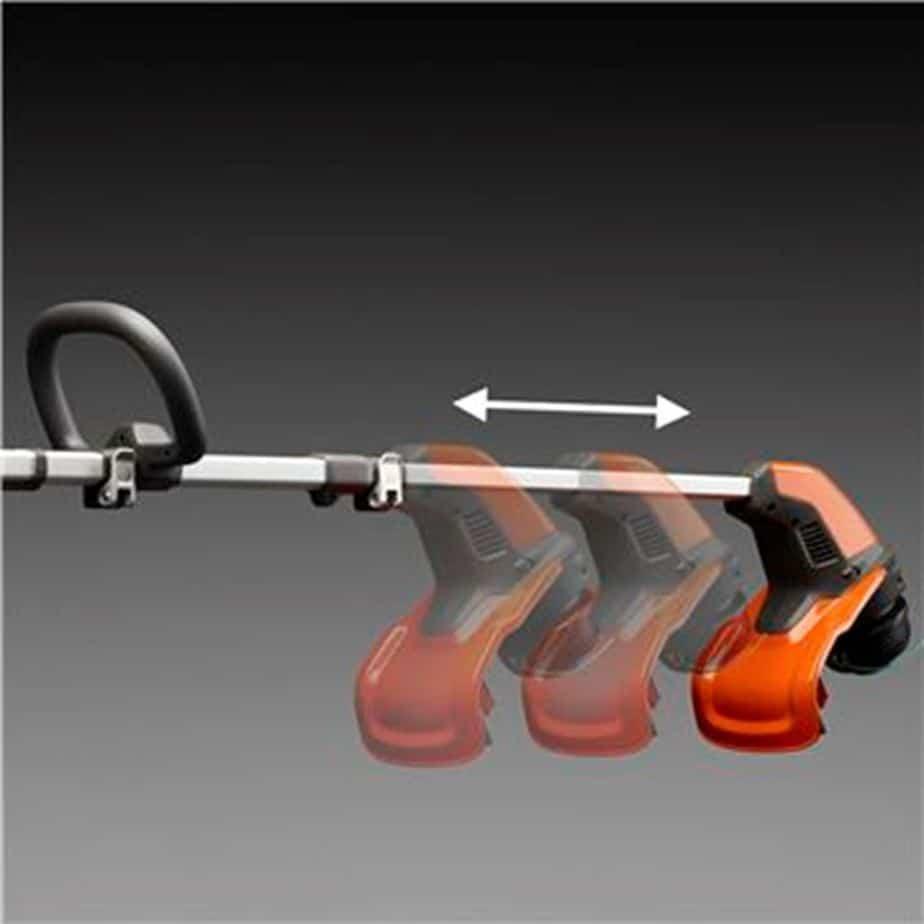 Husqvarna 115 iL trimmer test omdöme kniv eller tråd