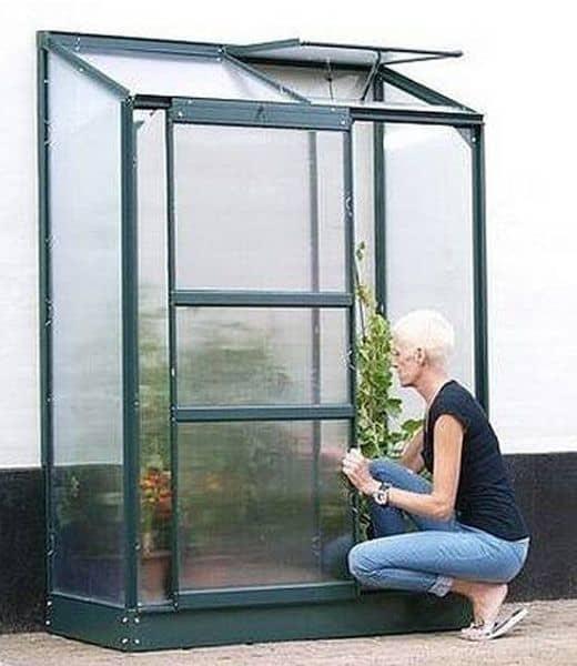 Väggväxthus Vitavia Ida 900 Grön Poly omdöme recension bäst i test bästa växthuset