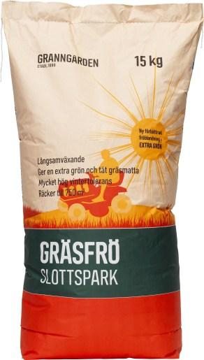 bästa GRÄSFRÖ GRANNGÅRDEN SLOTTSPARK gräs 15 kg test
