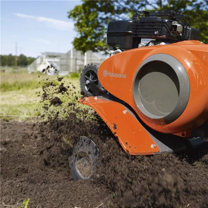 bästa jordfräsen 4 takt motor bensin plog röjsåg
