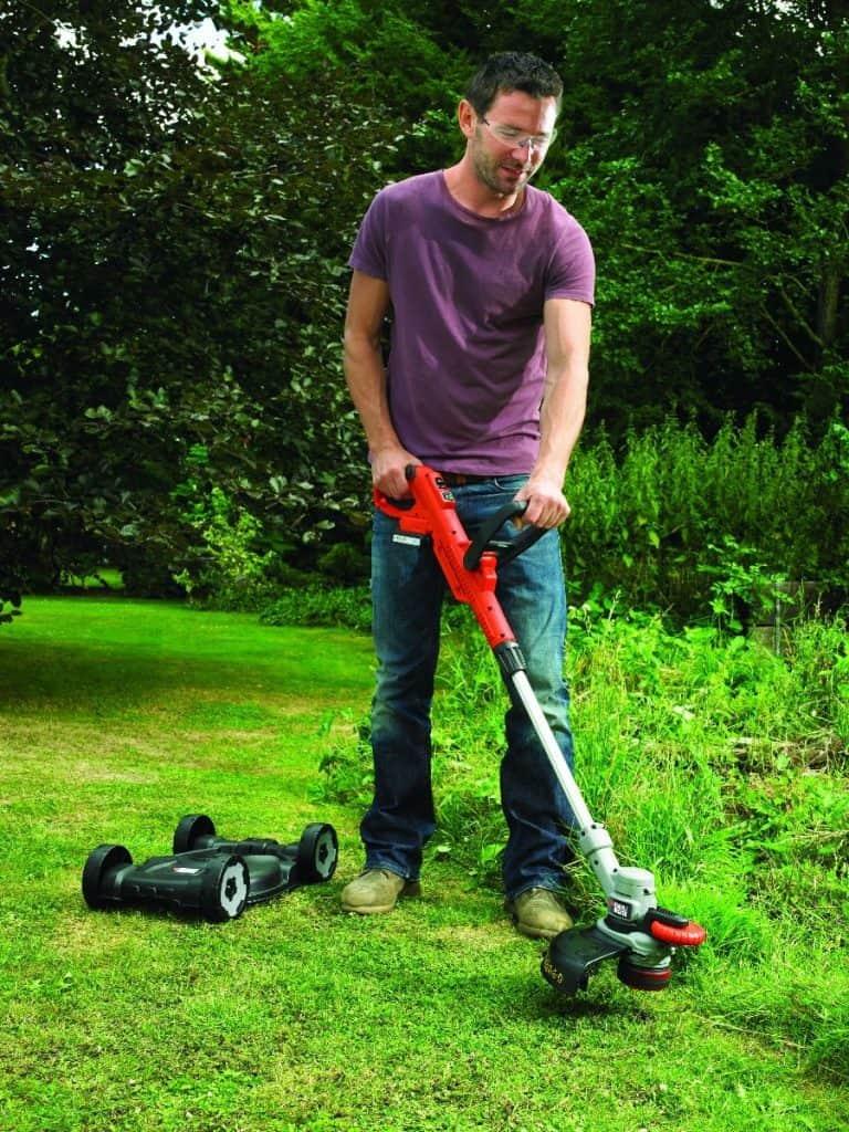 black & decker stc1820cm test grästrimmer gräsklippare recension omdöme