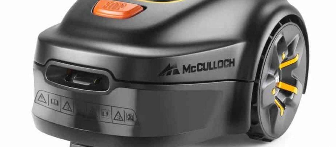 mcculloch rob s600 test robotgräsklippare