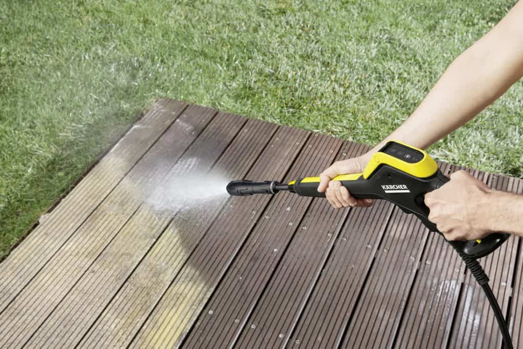 kärcher k5 test högtryckstvätt omdöme rengöring